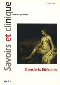 Savoirs et clinique 2005/1
