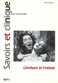 Savoirs et clinique 2007/1