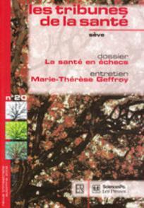 Les Tribunes de la santé 2008/3