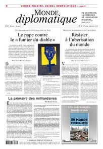 Consulter Le Monde diplomatique 2015/9