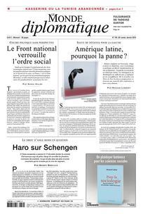 Consulter Le Monde diplomatique 2016/1