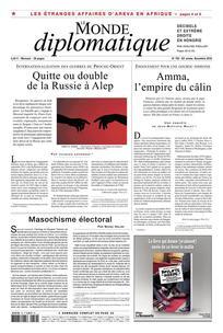 Consulter Le Monde diplomatique 2016/11