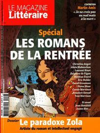 Consulter Le Magazine Littéraire 2015/9
