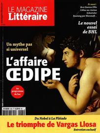 Consulter Le Magazine Littéraire 2016/3