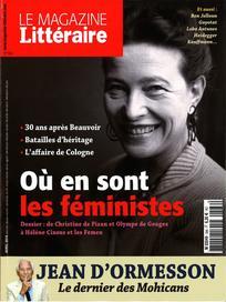 Consulter Le Magazine Littéraire 2016/4