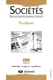 Sociétés 2006/3