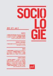Sociologie 2012/1