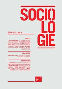 Sociologie 2013/1
