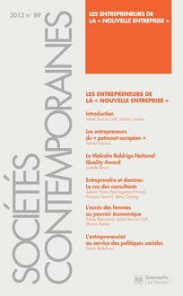 Sociétés contemporaines 2013/1