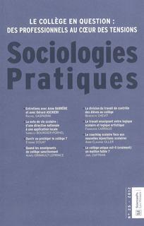 Sociologies pratiques 2012/2