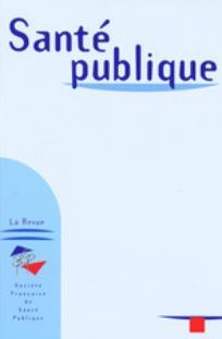 Santé Publique 2001/3