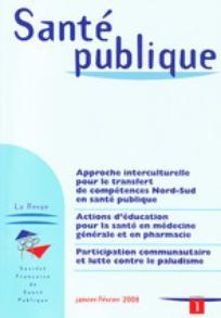 Santé Publique 2008/1