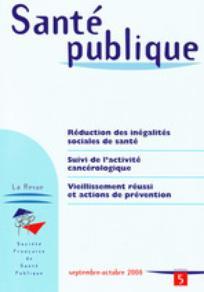 Santé Publique 2008/5