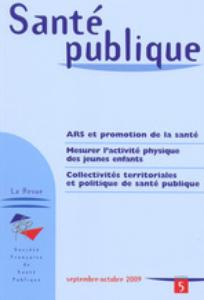 Santé Publique 2009/5