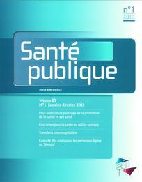 Santé Publique 2013/1