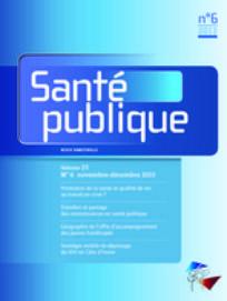 Santé Publique 2013/6