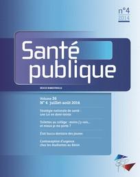 Santé Publique 2014/4