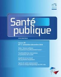 Santé Publique 2014/6