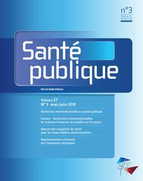 Santé Publique 2015/3