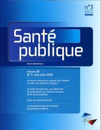 Santé Publique 2016/3