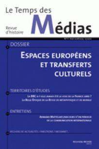 Le Temps des médias 2008/2