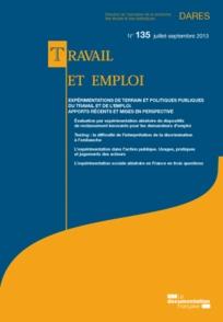 Travail et emploi 2013/3