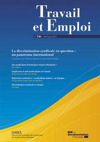 Travail et emploi 2016/2