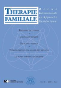 Thérapie Familiale 2009/4