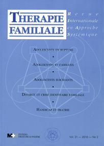 Thérapie Familiale 2010/2