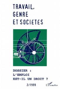 Travail, genre et sociétés 1999/2