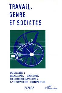 Travail, genre et sociétés 2002/1