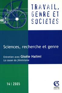 Travail, genre et sociétés 2005/2