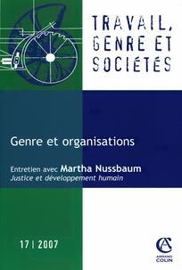 Travail, genre et sociétés 2007/1