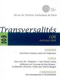 Transversalités 2008/2