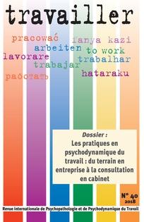 Vignette document Les  pratiques en psychodynamique du travail. Du terrain en entreprise à la consultation en cabinet (Dossier)