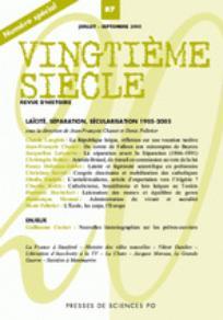 Vingtième Siècle. Revue d'histoire 2005/3