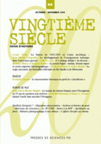 Vingtième Siècle. Revue d'histoire 2005/4