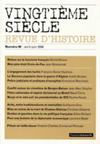 Vingtième Siècle. Revue d'histoire 2006/2