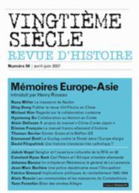 Vingtième Siècle. Revue d'histoire 2007/2