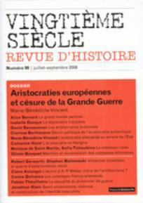 Vingtième Siècle. Revue d'histoire 2008/3
