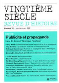Vingtième Siècle. Revue d'histoire 2009/1