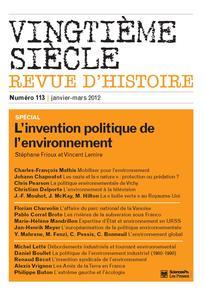 Vingtième Siècle. Revue d'histoire 2012/1