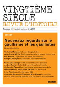 Vingtième Siècle. Revue d'histoire 2012/4