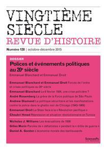 Revue Vingtième Siècle. Revue d'histoire 2015/4 | Cairn.info
