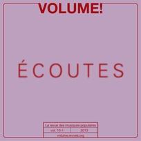 Volume ! 2013/1