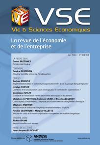 Vie & sciences de l'entreprise 2010/1
