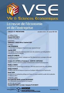 Vie & sciences de l'entreprise 2010/3