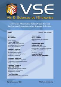Vie & sciences de l'entreprise