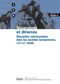 La nuit de noces comme cause de la séparation conjugale (second XIX`supbe`/supbsiècle, France) | Salmon, Aïcha