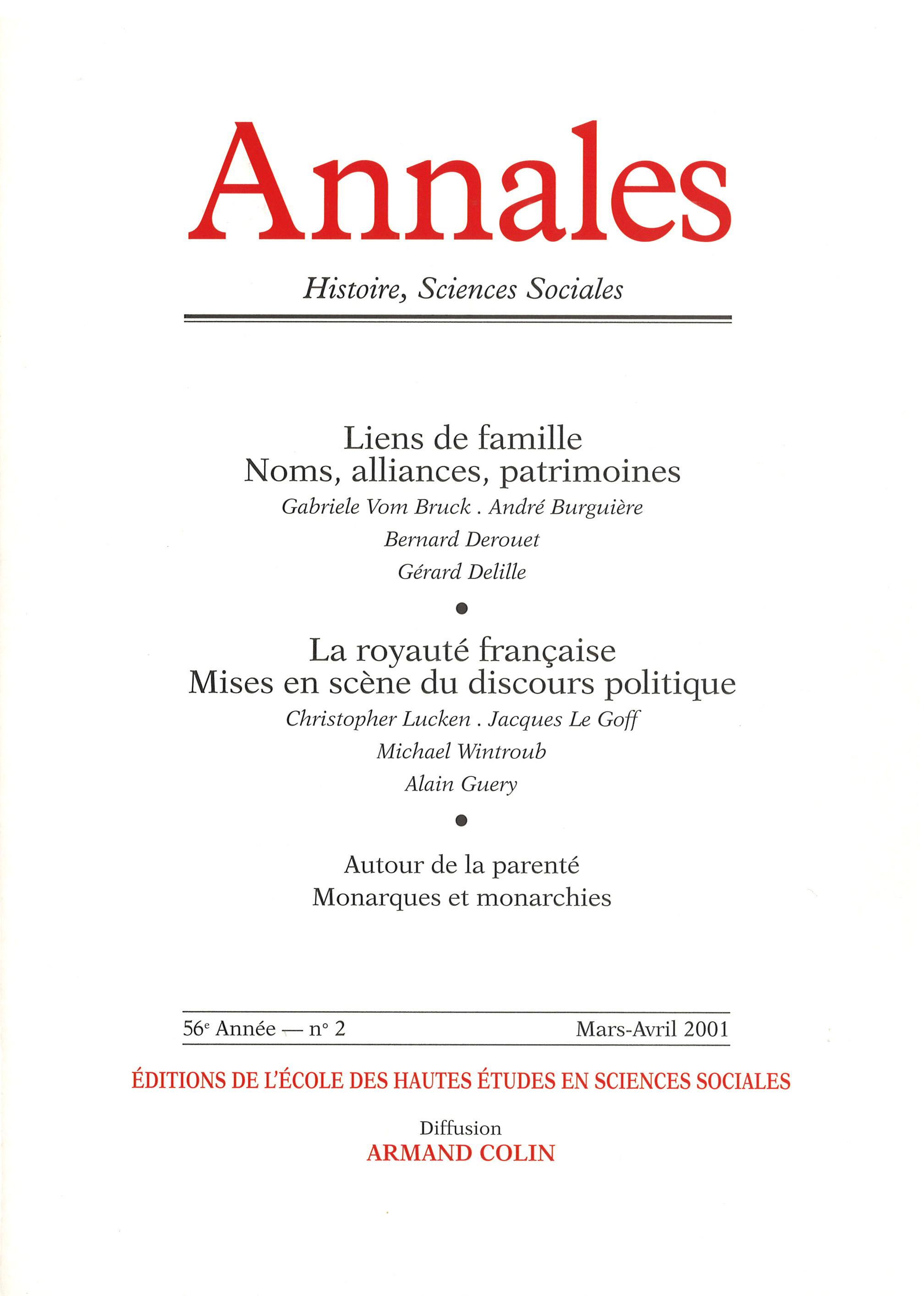 Comptes Rendus Autour De La Parenté Cairninfo